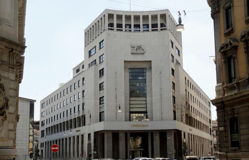 Palazzo ex Banco di Roma – Milano