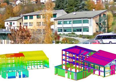 Valutazione Vulnerabilità e adeguamento sismico Scuole di Teglio