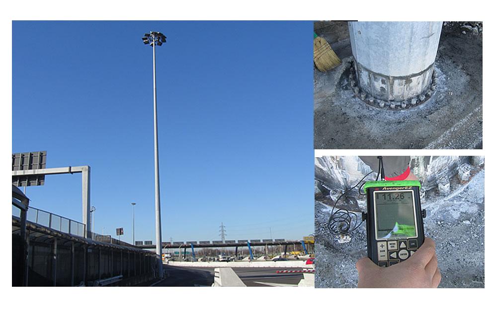 Verifiche di sicurezza Torre Faro Milano A8