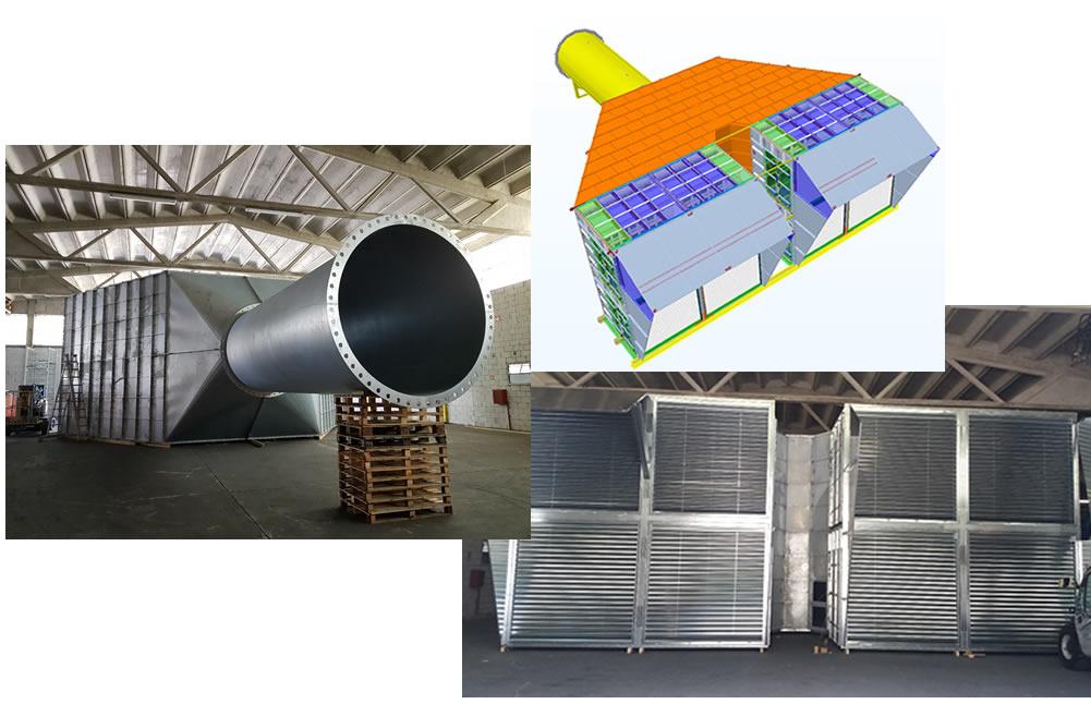 Studio e progettazione di struttura in acciaio, Congo