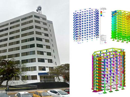 "Valutazione vulnerabilità sismica edificio ""Maranga I"" a Lima (Peru')"