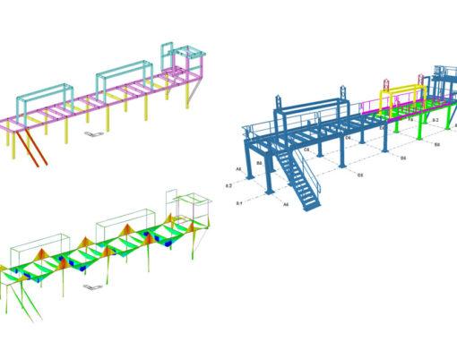 Progettazione struttura di impianto per la produzione di truciolato, Francia